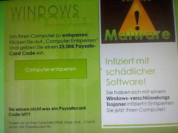 1. - (PC, Windows 7, Virus)