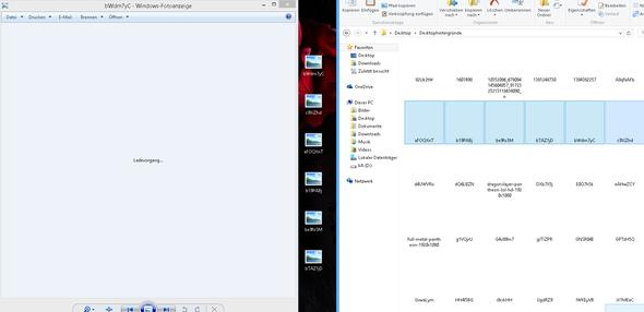 Problem - (Windows, Windows 8.1, fotoanzeige)