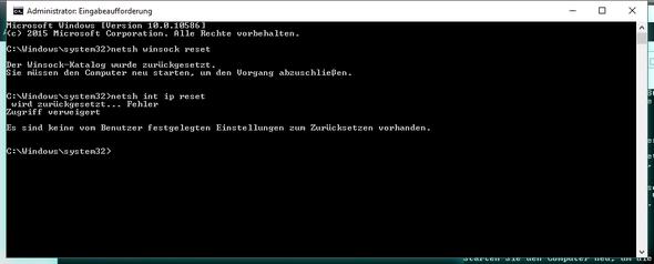 cmd mit admin rechten - (Windows, Netzwerk, Fritz Box)