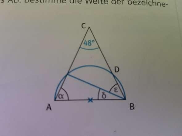 Winkelweite der Winkel bestimmen?