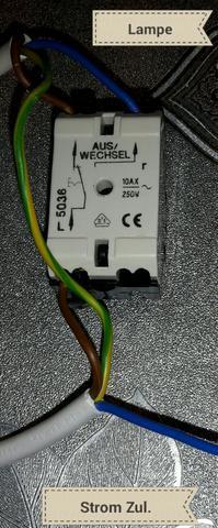 Wippschalter An Lampe Anschliessen Aber Wie Haus Strom Elektrik