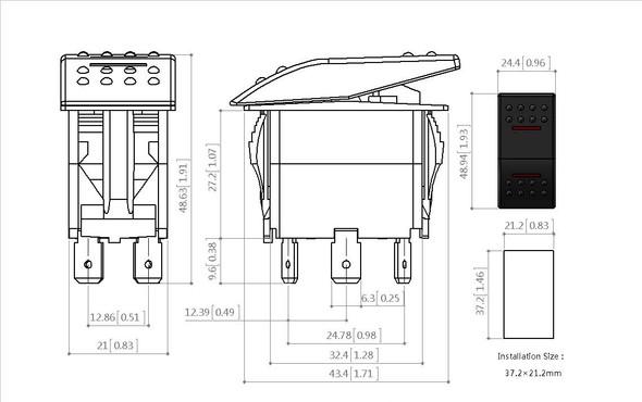 Schalter zeichnung - (Elektronik, Elektrik, Elektrotechnik)