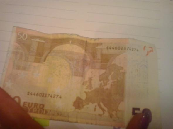Und? - (Geld, Annahme)