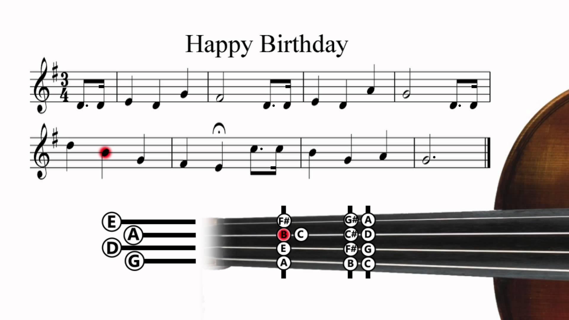 wird happy birthday auf der violine so gespielt wie es sich mit den noten geh rt oder kann man. Black Bedroom Furniture Sets. Home Design Ideas
