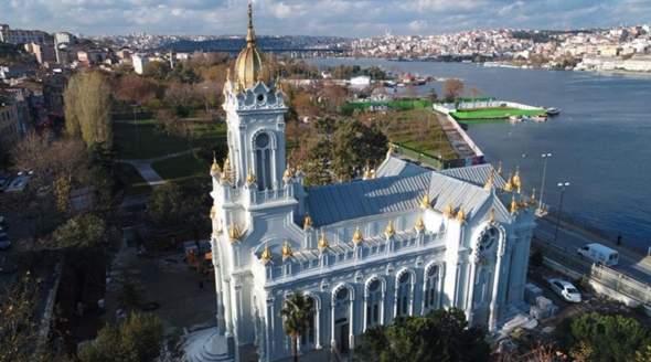 Wird in dieser Kirche in Istanbul gebetet?