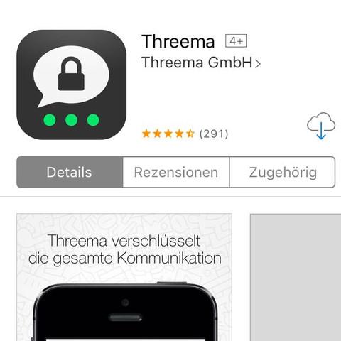 Threema - (Internet, WhatsApp)