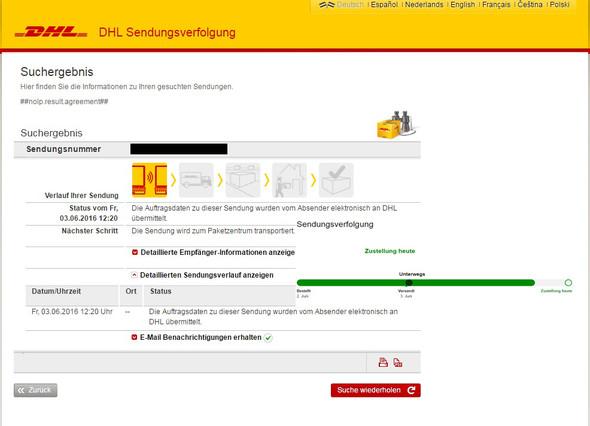 DHL - (Amazon, Paket, DHL)