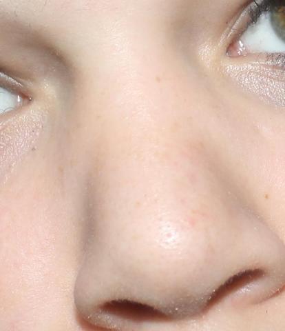 Meine Nase zusammen gezogen  - (Gesicht, Nase)