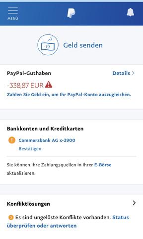 Geld Abbuchen Paypal Kosten