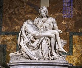 Die Pieta - (Kunst, Präsentation, Künstler)