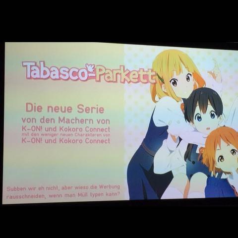 Das ist besagte Werbung  - (Anime, k-on, chuunibyou)