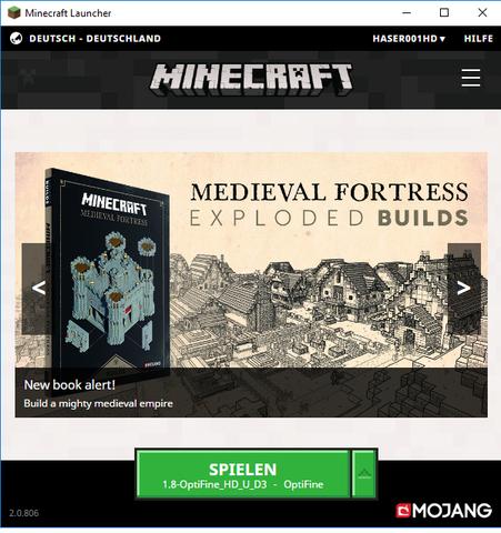 Dieser Launcher - (Minecraft, minecraft-launcher)