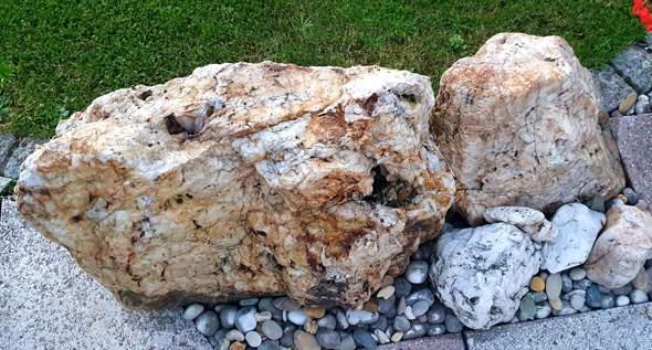 Wisst ihr, was das für Steine sind?