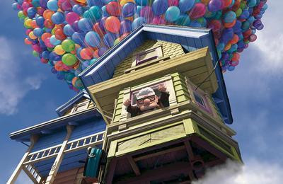 haus mit ballon - (Film, Haus, B allon)