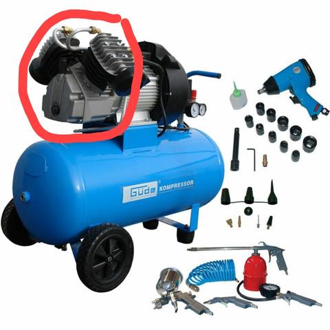 Luftkompressor - (Luft, Gerät, Bauteile)