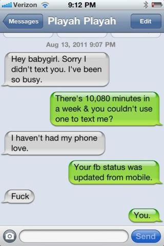 gute SMS-Konversationen