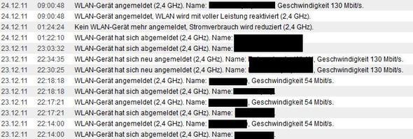 protokoll - (WLAN, Fritz Box)