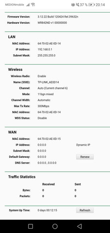 WLAN mit Tp Link Router?