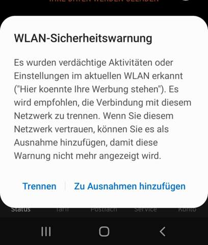 Android Wlan Kein Internet