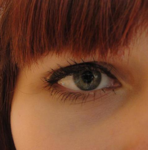 einmal so... - (Augen, Make-Up, Schminke)