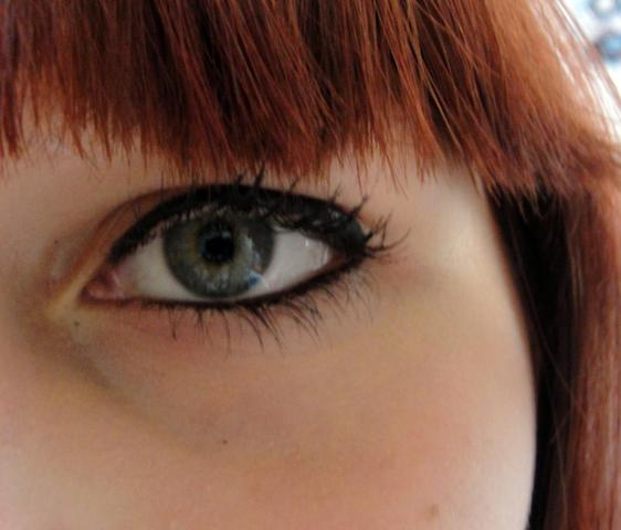 & einmal so... - (Augen, Make-Up, Schminke)