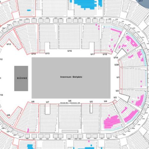 Wo am besten sitzen beim Konzert?