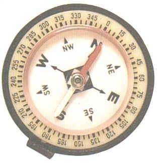Skala auf Kompass - (Astra, Grad, kompass)