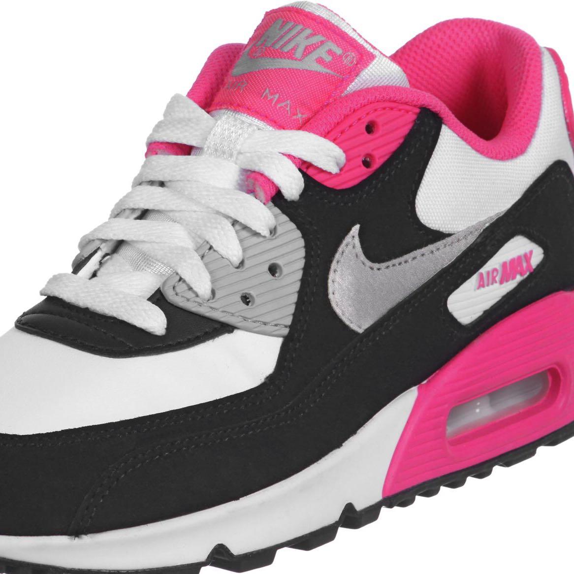 air max roze zwart