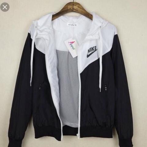 Nike damen jacke weis
