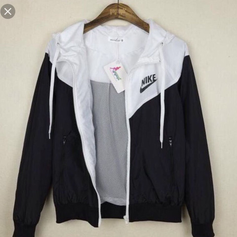 wo bekomme ich diese nike windbreaker jackeher mode jacke fashion. Black Bedroom Furniture Sets. Home Design Ideas