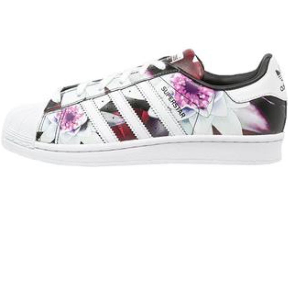adidas superstars damen blumen