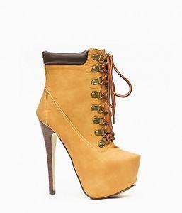 Timberland High Heel Boots - (Mode, Schuhe, High-Heels)