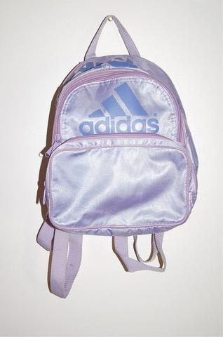 Das ist der Rucksack - (adidas, Rucksack, lila)