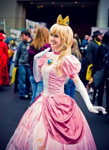 Prinzessin  Peach Cosplay - (Computer, Cosplay, prinzessin-peach)