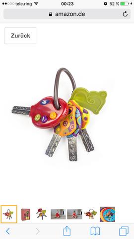 Schlüsselbund - (Baby, Spielzeug, Kleinkind)