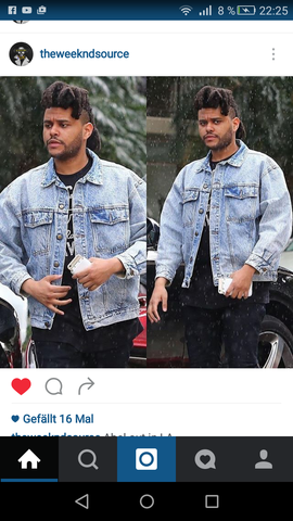 Richtig nice Jacke 💕👌 - (Mode, Jeansjacke, The Weeknd)