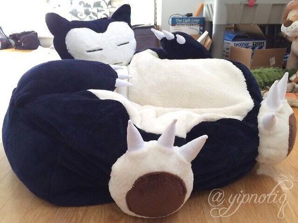 wo bekomme ich so einen sitzsack her pokemon m bel relaxo. Black Bedroom Furniture Sets. Home Design Ideas