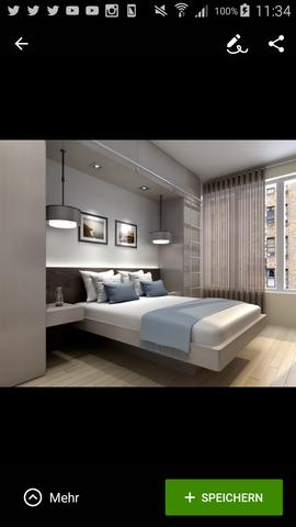 Bild - (Zimmer, Bett, Einrichtung)