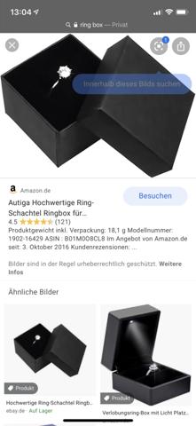 Wo ein Ring rein tun?