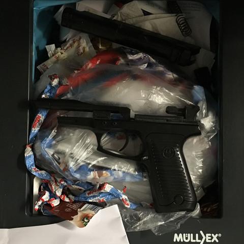 HILFE - (Waffen, Pistole, Entsorgung)