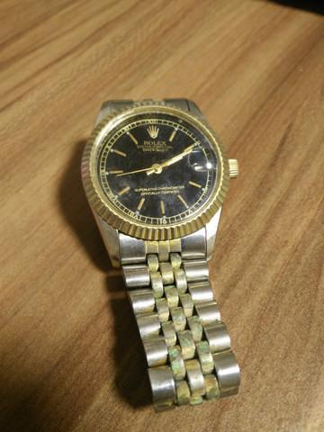Rolex - (Uhr, alt, Rolex)