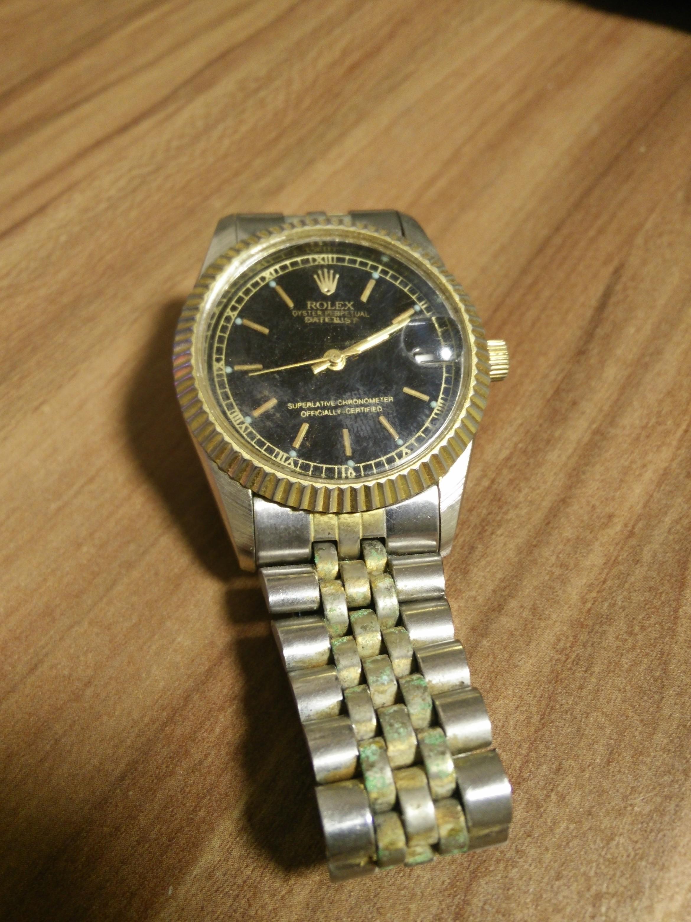 Wo Erfahre Ich Wie Viel Diese Rolex Wert Ist Uhr Alt