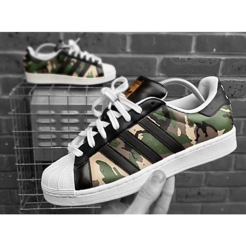 Wo finde ich die Adidas Superstar Military 2.0 (am besten auf deutsche onlineshops)?