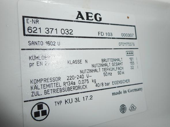 - (Technik, Kühlschrank, aeg)