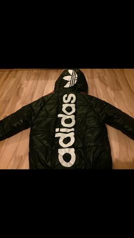 Jacke von hinten - (adidas, Herren, Winterjacke)
