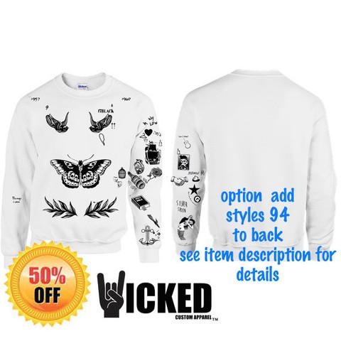 Anspielung an die Tattos von 1D Sänger Harry Styles - (kaufen, Mode, online)