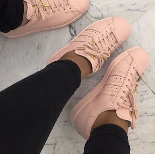 Adidas Superstar Hellrosa Damen