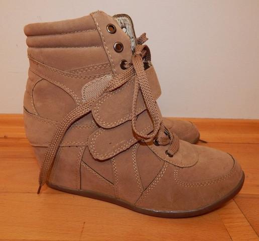Schuhe 2 - (Schuhe, braun, Keilabsatz)