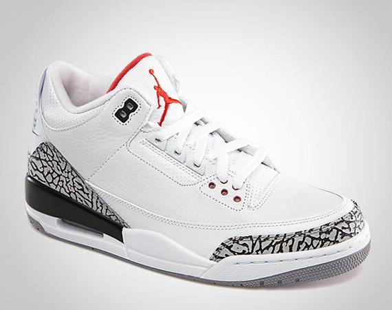 detailing f881f 2fa46 Datenschutzerklärung Weiß Schuhe Nike Air Jordan 3 Retro 88 Cement