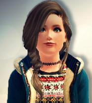 Die Frisur meine ich - (Sims 3, Frisur, Sims)